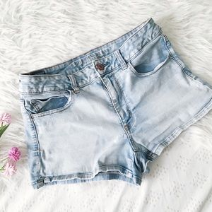 Super Super Stretch Hi-Rise Shortie // AEO